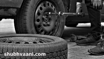 tyre puncture business in hindi